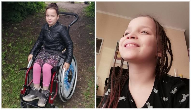Desmitgadīgajai Selīnai no Bauskas nepieciešama palīdzība kāju operācijas apmaksai