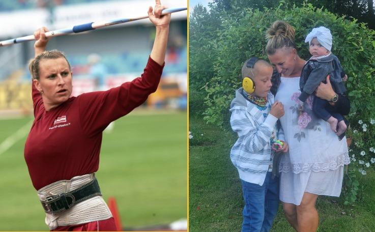 Latviešu sportistes Ingas Kožarenokas dēlam nepieciešama palīdzība operācijas apmaksai