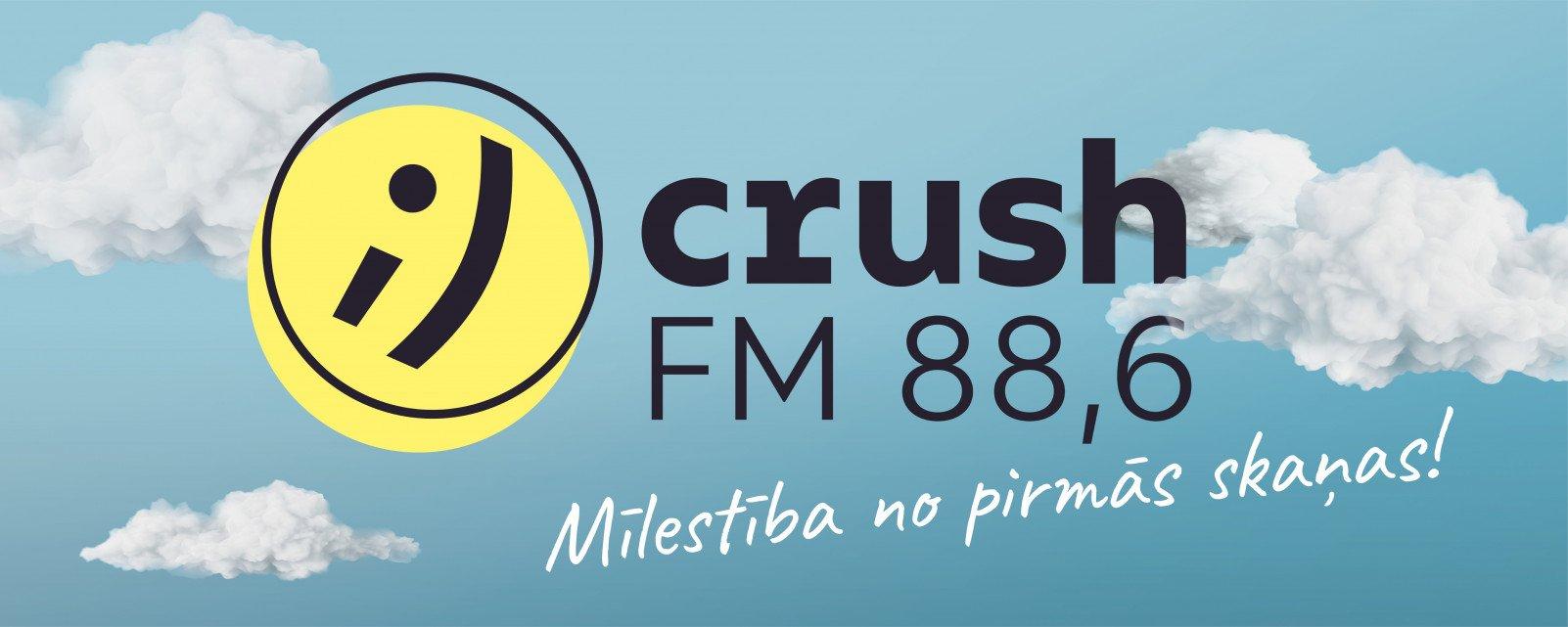 Rīgā 88,6 fekvencē sākusi darbu jauna radio stacija – Crush FM